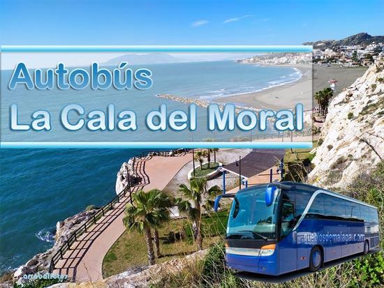 autobuses de Málaga a La Cala del Moral y Rincón de la Victoria