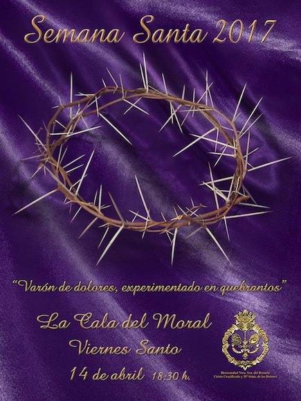 Cartel de la Semana Santa de La Cala del Moral