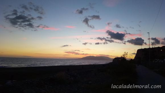 Sunset at La Cala del Moral