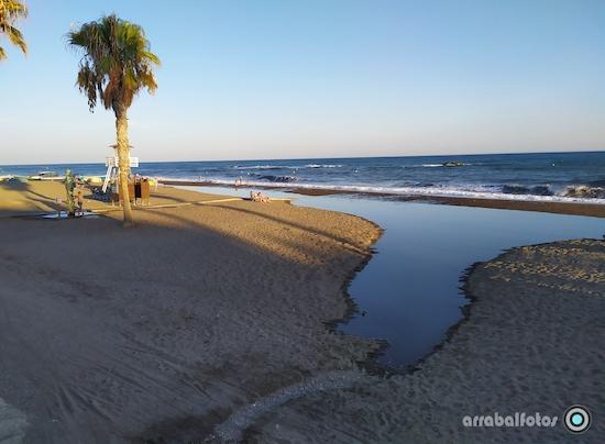 Olas en La Playa de La Cala del Moral