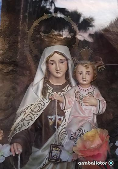 VirgeVirgen del Carmen en La Cala del Moraln del Carmen en La Cala del Moral