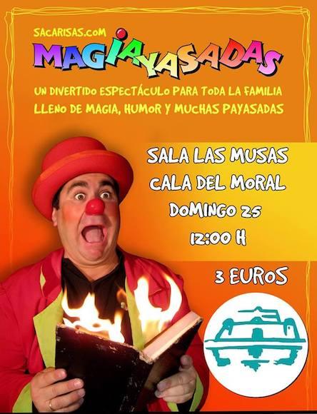 """""""Magiayasadas""""  en  La Cala del Moral"""