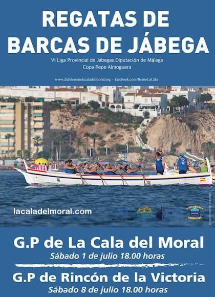 Regata de Jábegas de La Cala del Moral