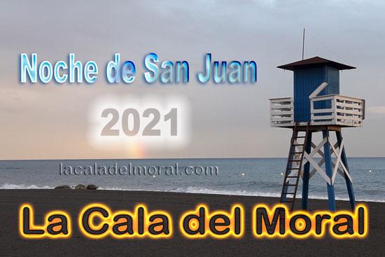 Noche de San Juan en La Cala del Moral 2021