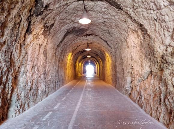 Tunel de La Cala del Moral a Rincón de la Victoria