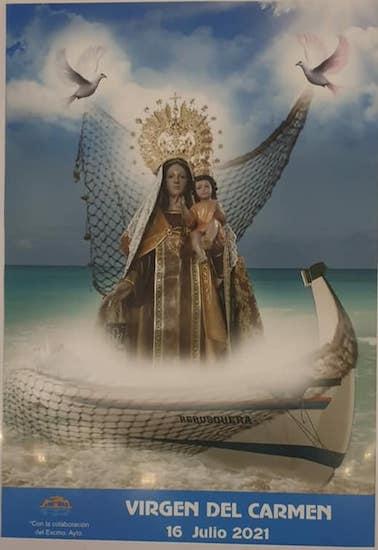 Día de la Virgen del Carmen en La Cala del Moral