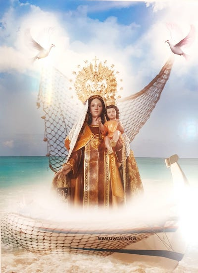 Día de la Virgen del Carmen en La Cala del Moral 2021