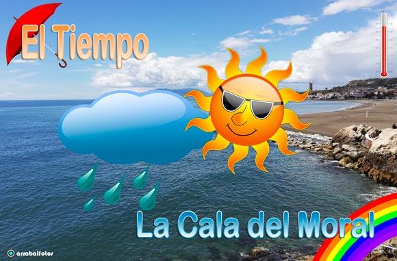 El tiempo La Cala del Moral, Aemet, el tiempo en la playa de la Cala del Moral, viento, olas y temperatura