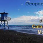 web y app para saber el estado de ocupación de las playas de La Cala del Moral