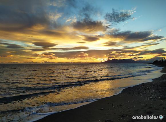 Puesta de Sol en la Playa de La Cala del Moral