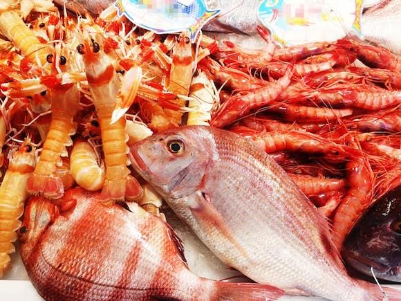 Pescados y mariscos de Pescadería Jacobo en La Cala del Moral