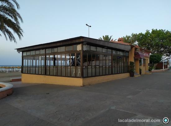Vista del Salon del Restaurante Maribel en La Cala del Moral