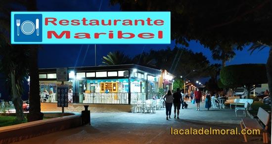 Restaurante Maribel en el Paseo Marítimo Blas Infante de La Cala del Moral