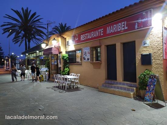 Restaurante Maribel en La Cala del Moral