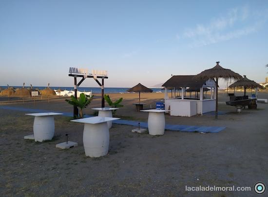 Zona Avante beach del Restaurante Avante Claro en La Cala del Moral