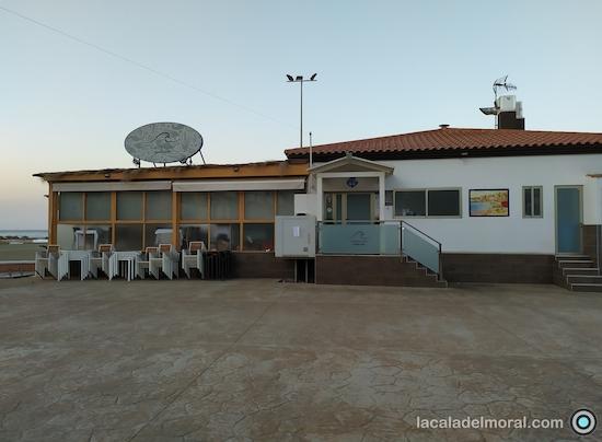 Restaurante Avante Claro en La Cala del Moral desde el Paseo Marítimo Blas infante