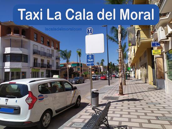 Taxi La Cala del Moral